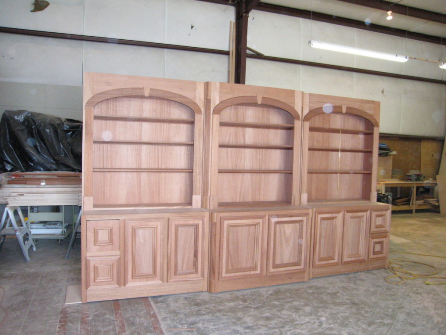 Hi-Bar Custom Services - Home Office Build-Out